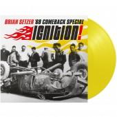 Brian Setzer '68 Comeback Special 'Ignition' LP yellow vinyl