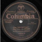 Blind Willie Johnson 'Dark Was The Night Cold Was The Ground' + 'It's Nobody's Fault But Mine'   7""