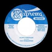 "Inn Keepers feat. Dennis Alcapone 'Duppy Serenade' + Sound Dimension 'Lovers Serenade'  Jamaica 7"""