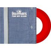"""Valkyrians 'Poor Boy Reggae'  7"""" ltd. red vinyl"""