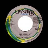 "Harriott, Derrick 'All Shook Up' + Chariot Riders 'Shook Up (dancehall style)'  jamaica 7"""