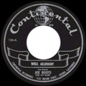 Boots, Joe 'Well Allright' + 'Rock'n'Roll Jungle Girl'  7""