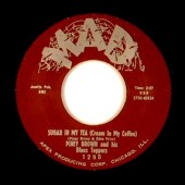 Brown, Piney & His Blues Toppers 'Sugar In My Tea' + 'My Love'  7""