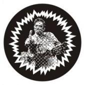 PVC sticker 'F***finger' round