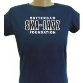 Gilrie Shirt 'Rotterdam Ska-Jazz Foundation' blue, size small