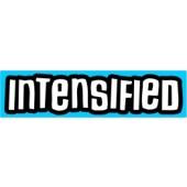 PVC sticker 'Intensified - blue'
