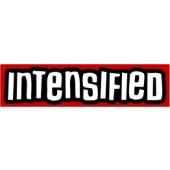 PVC sticker 'Intensified - red'