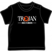 Baby Shirt 'Trojan Records' black, all sizes