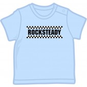 Baby Shirt 'Rocksteady' light blue, 5 sizes