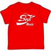 Baby Shirt 'Enjoy Soul Music' 5 sizes