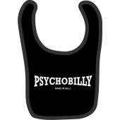 baby bib 'Psychobilly - Made In Hell' black