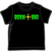 Baby Shirt 'Born Bad' black, 4 sizes