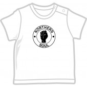 free for orders over 100 €: Baby Shirt 'Northern Soul' white, four sizes