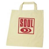 Cotton Bag 'Soul Records' - natural cotton