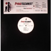 Pyrotechnist 'Dub Rocketry'  LP ltd. yellow vinyl