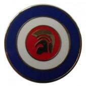 fridge magnet 'Trojan Helmet Target'
