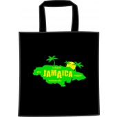 free for orders over 150 €: cotton bag 'Jamaica Island' black
