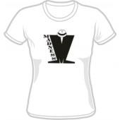T-Shirt 'Madness' Logo black on white, all sizes