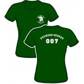Girlie Shirt 'Desmond Dekker - 007' green, all sizes