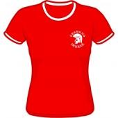 Girlie Shirt 'Desmond Dekker - Ringer red' - all sizes
