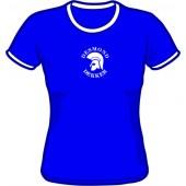 Girlie Shirt 'Desmond Dekker - Ringer blue' - sizes small, medium