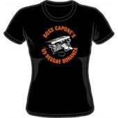 girlie shirt 'Boss Capone - '69 Reggae Bonanza' black - sizes M - XXL