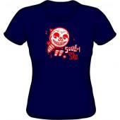 Girlie Shirt 'CHema Skandal! - Soulful Ska' navy - sizes S - XL