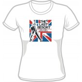Girlie Shirt ''The Last Resort - A Way Of Life' white, all sizes
