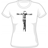 Girlie Shirt 'Crucified' - all sizes