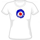 Girlie Shirt 'Brushed Target' all sizes