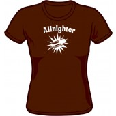 Girlie Shirt 'Allnighter' different colours, all sizes