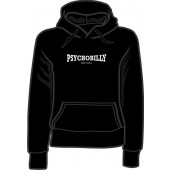 girlie hooded jumper 'Psychobilly - made in hell' all sizes