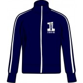 Girlie trainings jacket 'Studio One' navy blue all sizes