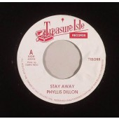"""Dillon, Phyllis 'Stay Away' + Tommy McCook 'Starry Night'  7"""""""