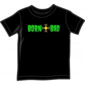 Kids Shirt 'Born Bad' black, 5 sizes