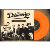Debonaires 'Listen Forward' LP+CD ltd. orange vinyl