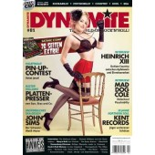 Dynamite! Magazine # 81 - The World Of Rock'n'Roll - 130 S. + CD *Mad Dog Cole*Kent Records*Satanic Stomp*