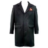 Relco Crombie black, sizes S - 3XL