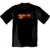 T-Shirt 'Big Shot' black, all sizes