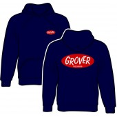 hooded jumper 'Grover Records navy' all sizes
