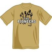 T-Shirt 'The Pioneers' khaki all sizes