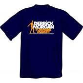 T-Shirt 'Derrick Morgan - Forward March' dunkelblau, Gr. S