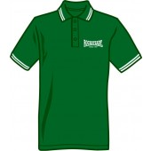 Polo Shirt 'Rocksteady Since1967' green, all sizes