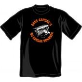 T-Shirt 'Boss Capone - '69 Reggae Bonanza' black - sizes S - 3XL