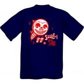T-Shirt 'CHema Skandal! - Soulful Ska' navy - sizes S - 3XL