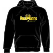 hooded jumper 'Valkyrians' black - sizes S - 3XL