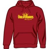 hooded jumper 'Valkyrians' navy, sizes S - XXL