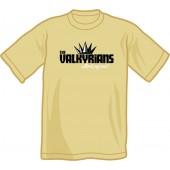 T-Shirt 'Valkyrians' sand, sizes S, XL, XXL