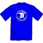 T-Shirt '8°6 Crew - Bad Bad Reggae' royalblue - sizes S - 3XL