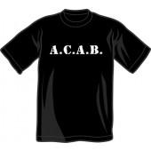T-Shirt 'A.C.A.B.' all sizes